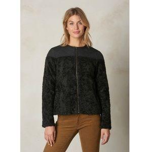NWT PrAna GOOD LUX Black Sherpa Jacket Size Medium